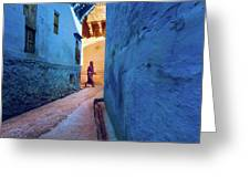 Jodhpur Colors Greeting Card