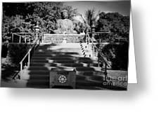 Jodo Shu Mission Lahaina Maui Greeting Card