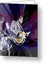 Joe Bonamassa Art Greeting Card
