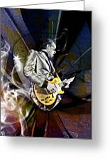 Joe Bonamassa Blues Guitarist Greeting Card