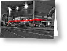 Joe Louis Arena Detroit Mi Greeting Card