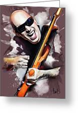 Joe Satriani Greeting Card