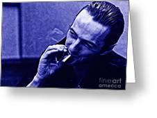 Joe Strummer Collection Greeting Card