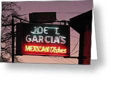Joe T Garcia's Greeting Card by Shawn Hughes