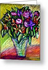 Joels Roses 1 Greeting Card
