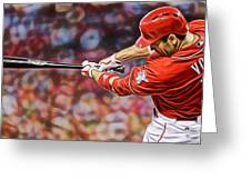 Joey Votto Baseball Greeting Card