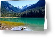 Joffre Lake Horizontal Greeting Card