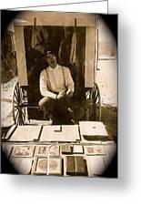 John A. Coffer  Traveling Tintype Photographer  Tombstone Arizona 1980-2009 Greeting Card