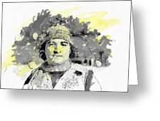 John Belushi Killer Bee Greeting Card