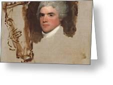 John Bill Ricketts Greeting Card