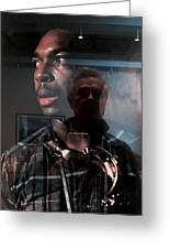 John Coltrane And Me Greeting Card