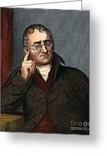 John Dalton - To License For Professional Use Visit Granger.com Greeting Card