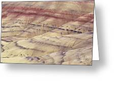 John Day Fossil Beds Greeting Card by Greg Vaughn - Printscapes