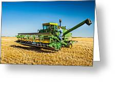 John Deere 6600 Greeting Card