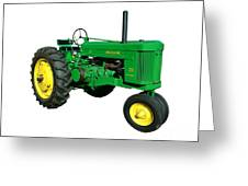 John Deere 70 Greeting Card