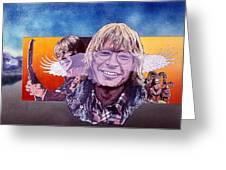 John Denver Greeting Card by John D Benson