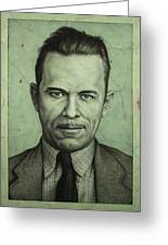 John Dillinger Greeting Card