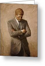 John F Kennedy Greeting Card