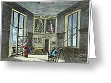John Flamsteed, C. 1700 Greeting Card