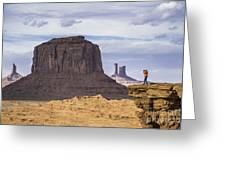 John Ford Point Photographer Greeting Card