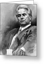John Gotti Greeting Card