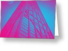 John Hancock Building In Chicago 1 Greeting Card
