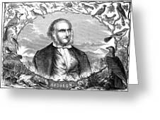 John James Audubon Greeting Card by Granger
