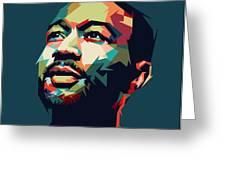 John Legend Greeting Card