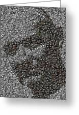 John Locke Dharma Button Mosaic Greeting Card