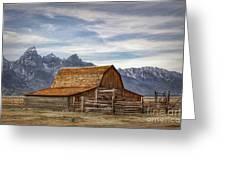 John Moulton Barn Greeting Card