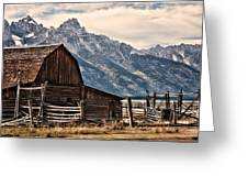John Moulton's Barn Greeting Card