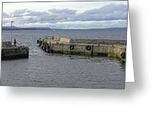 John O'groats Harbour Greeting Card