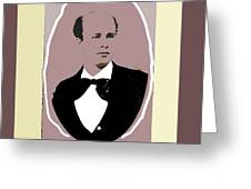 John P. Clum Portrait C. 1870 Greeting Card