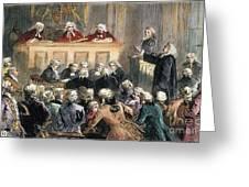 John Peter Zenger Trial Greeting Card by Granger