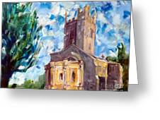 John Piper's Jewel - Sunningwell Church Greeting Card