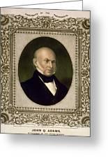 John Quincy Adams, 6th U.s. President Greeting Card