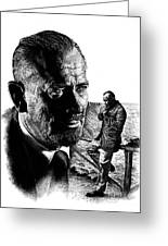 John Steinbeck Greeting Card
