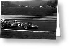 John Surtees 4 Greeting Card