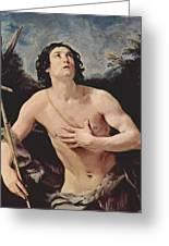 John The Baptist 1640 Greeting Card