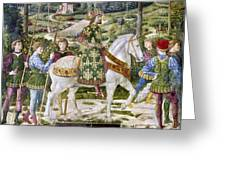 John Viii Paleologus Greeting Card
