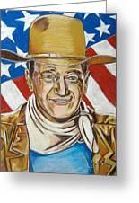 John Wayne 2 Greeting Card by John Keaton