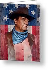John Wayne Americas Cowboy Greeting Card