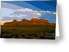 John Wayne Country Greeting Card