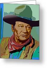 John Wayne Greeting Card by John Keaton