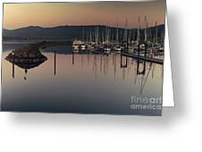 John Wayne Marina Greeting Card