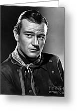 John Wayne Most Popular Greeting Card