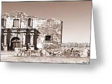 John Wayne's Alamo Mission Greeting Card