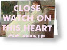 Johnny Cash Art Print Greeting Card