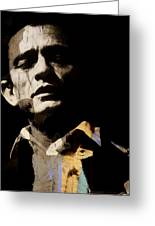 Johnny Cash - I Walk The Line  Greeting Card