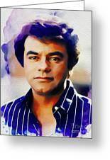 Johnny Mathis, Music Legend Greeting Card